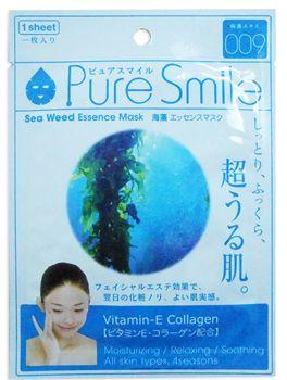"000235 ""Pure Smile"" ""Essence mask"" Детокс маска с эссенцией морских водорослей 23мл 1/600"