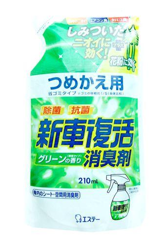 """119929 """"ST Auto"""" """"Shinsha Fukkatsu"""" Спрей для автомобиля аромат зелени сменная упаковка 210мл 1/20"""