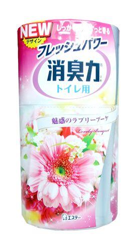 "120406 ""ST"" ""Shoushuuriki"" Жидкий дезодорант – аром. д/туалета .. аромат розовых цветов 400 мл 1/18"