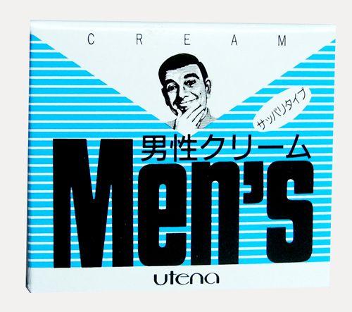 """121133 """"UTENA"""" """"Men's"""" Тониз. защитн. крем после бритья с вит. В6 60гр 1/72"""
