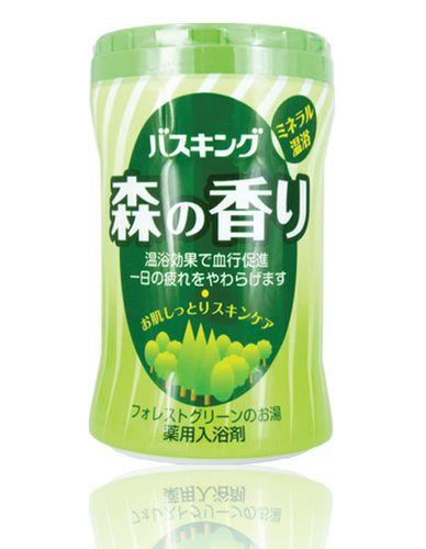 """210048 """"Hakugen"""" """"Bath King"""" Соль для ванны с успокаивающим эффектом. Аромат леса (банка 680 г) 1/15"""
