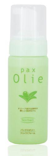 """054214 """"Pax Olie"""" Натуральная пенка для очищения кожи лица на основе оливкового масла 150г 1/12"""