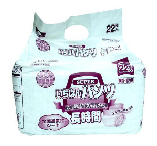 """710962 """"Super Ichiban"""" Трусики блокирующие длительного действия 22шт 52см-75см (размер S) 1/6"""