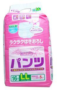 """711259 """"Ichiban"""" Трусики блокирующие неприятные запахи 16шт 85см-125см (размер LL) 1/4"""