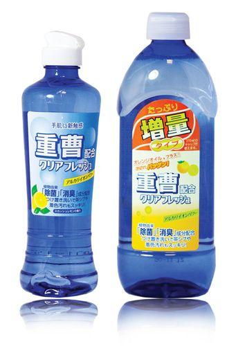 "357456 ""Sankyo Yushi"" ""Clear Fresh"" Конц. моющее средство для кухни с апельс. маслом (сб) 0.45л 1/30"